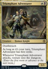 Triumphant Adventurer -