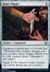 Spare Dagger -