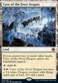 Cave of the Frost Dragon -