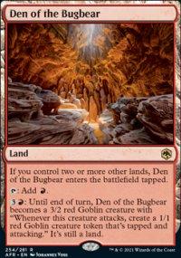 Den of the Bugbear -