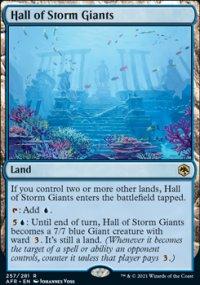 Hall of Storm Giants -