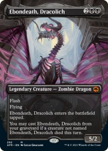 Ebondeath, Dracolich 2 - Dungeons & Dragons: Adventures in the Forgotten Realms