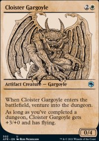 Cloister Gargoyle 2 - Dungeons & Dragons: Adventures in the Forgotten Realms