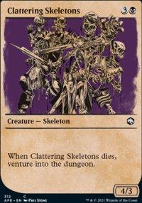 Clattering Skeletons -