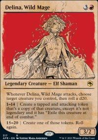 Delina, Wild Mage -