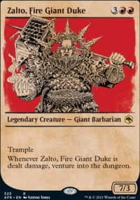 Zalto, Fire Giant Duke 2 - Dungeons & Dragons: Adventures in the Forgotten Realms