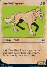 Dire Wolf Prowler -