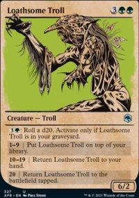 Loathsome Troll -