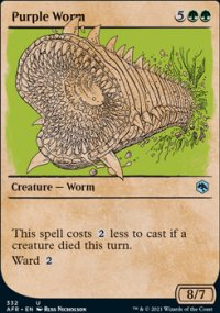 Purple Worm 2 - Dungeons & Dragons: Adventures in the Forgotten Realms
