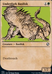 Underdark Basilisk -