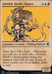 Farideh, Devil's Chosen -