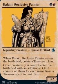 Kalain, Reclusive Painter -