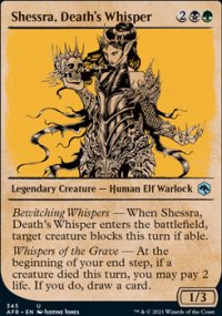 Shessra, Death's Whisper -