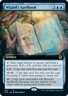 Wizard's Spellbook -
