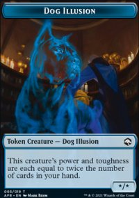 Dog Illusion - Dungeons & Dragons: Adventures in the Forgotten Realms