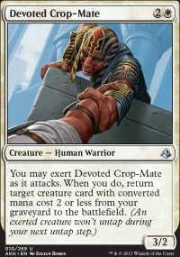 Devoted Crop-Mate - Amonkhet