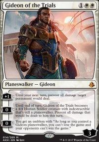 Gideon of the Trials - Amonkhet