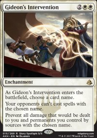 Gideon's Intervention - Amonkhet