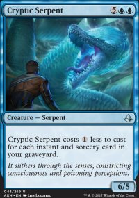 Cryptic Serpent - Amonkhet