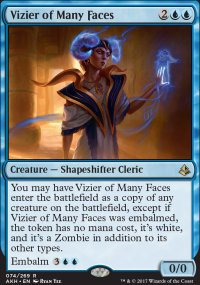 Vizier of Many Faces - Amonkhet
