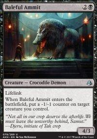 Baleful Ammit - Amonkhet