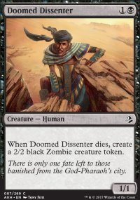 Doomed Dissenter - Amonkhet