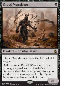 Dread Wanderer - Amonkhet