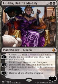 Liliana, Death's Majesty - Amonkhet