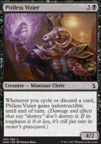 Pitiless Vizier - Amonkhet