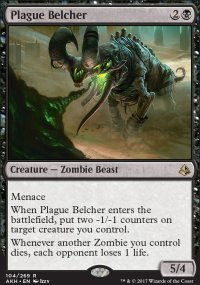 Plague Belcher - Amonkhet