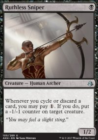 Ruthless Sniper - Amonkhet