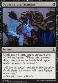 Supernatural Stamina - Amonkhet