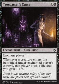 Trespasser's Curse - Amonkhet