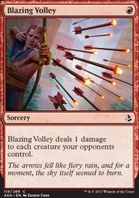 Blazing Volley - Amonkhet