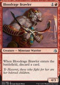 Bloodrage Brawler - Amonkhet