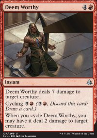 Deem Worthy - Amonkhet
