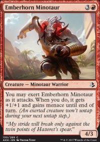Emberhorn Minotaur - Amonkhet
