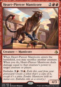 Heart-Piercer Manticore - Amonkhet