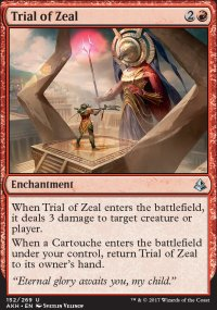 Trial of Zeal - Amonkhet