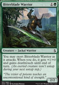 Bitterblade Warrior - Amonkhet