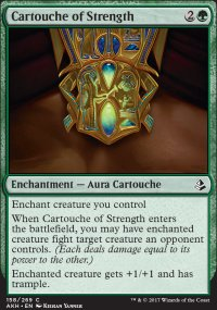 Cartouche of Strength - Amonkhet