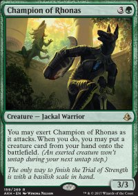Champion of Rhonas - Amonkhet