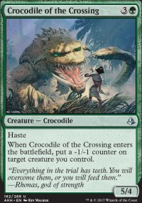 Crocodile of the Crossing - Amonkhet