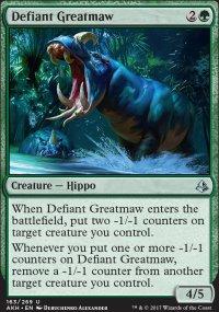 Defiant Greatmaw - Amonkhet