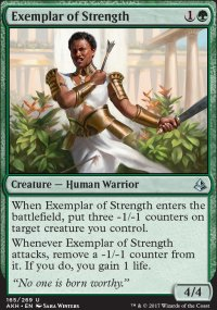 Exemplar of Strength - Amonkhet