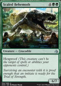Scaled Behemoth - Amonkhet