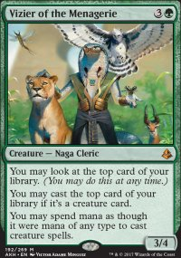 Vizier of the Menagerie - Amonkhet