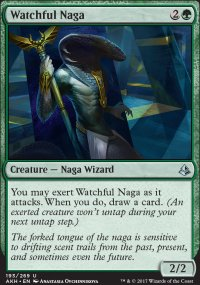 Watchful Naga - Amonkhet