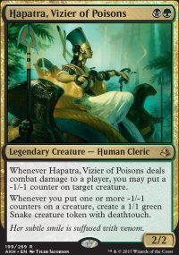 Hapatra, Vizier of Poisons - Amonkhet