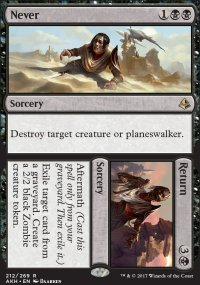 Never / Return - Amonkhet